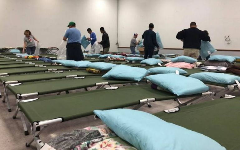 The Salvation Army Providing Emergency Shelter to Refugees in McAllen, Texas