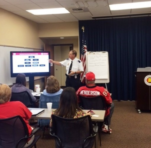 The Salvation Army Conducts Joint Disaster Liaison Training