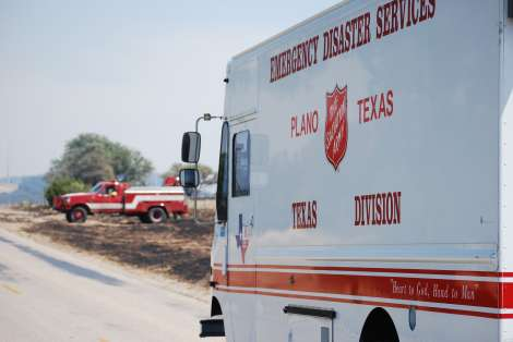 First-Responders the Focus of Salvation Army Relief as Texas Wildfires Spread