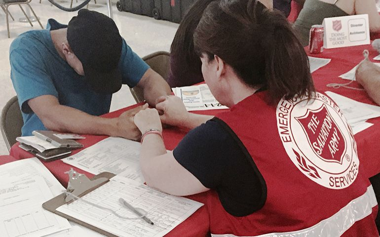 Salvation Army EDS Services Transition to Long-Term Recovery in Texas