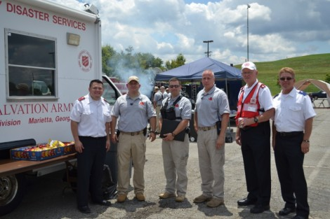 Salvation Army Georgia Division Supports WMD Response Exercises