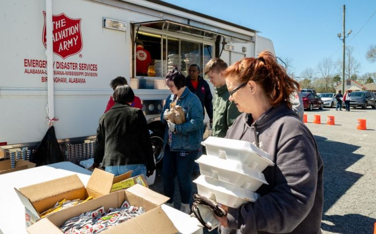Salvation Army Serving Lee County Volunteers
