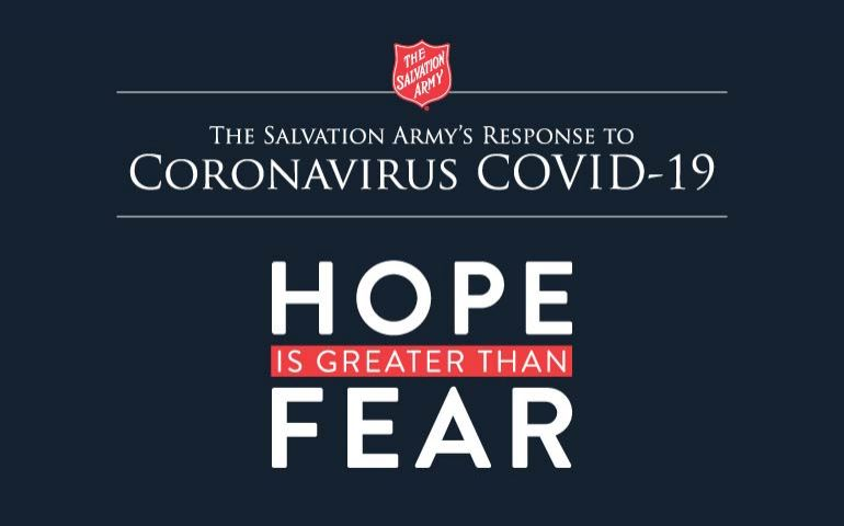 The Salvation Army Persists with Coronavirus Relief