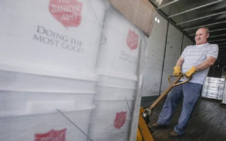 Salvation Army Western Division Flood-Relief Teams Now Working Across 300-Mile-Long Corridor
