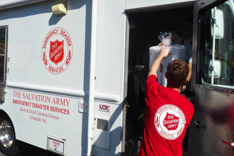 The Salvation Army of the Carolinas Serving Ahead of Hurricane Matthew