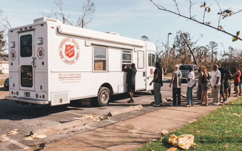 The Salvation Army Serving Meals Across The Florida Panhandle