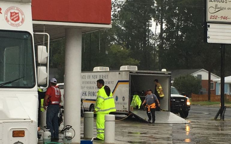 Snapshot of The Salvation Army's Work as Hurricane Florence Makes Landfall