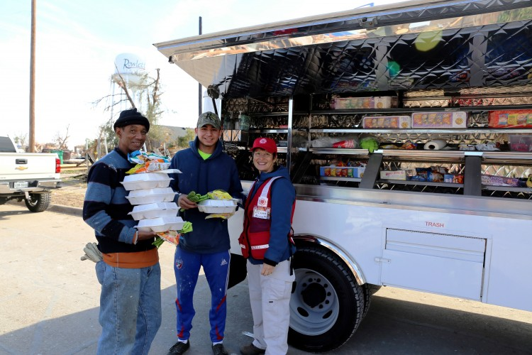 Catering Trucks and UTVs Key to Salvation Army Tornado Response
