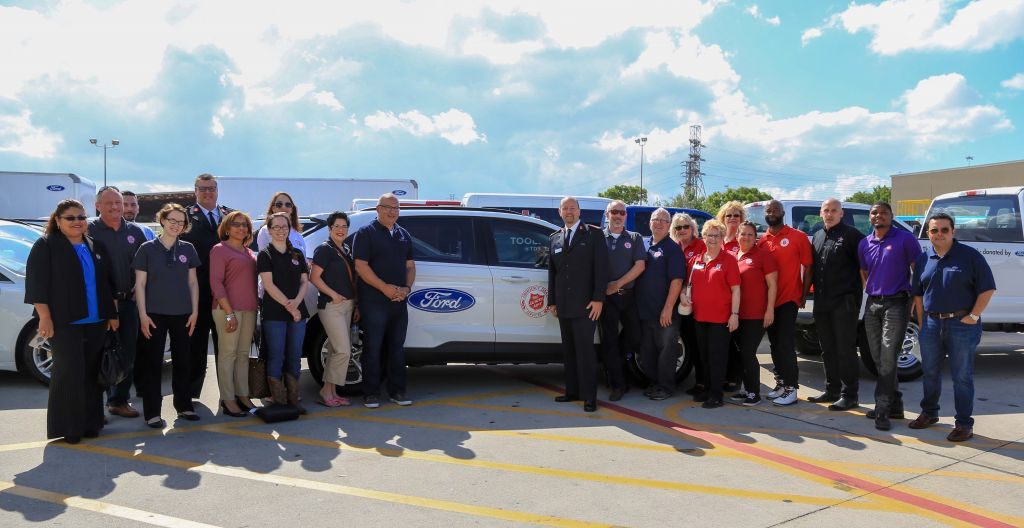 Ford Motor Company Donates Vehicles for Salvation Army Disaster Relief Efforts