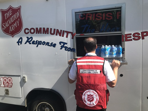 The Salvation Army of Canada Responds to Wildfires In British Columbia