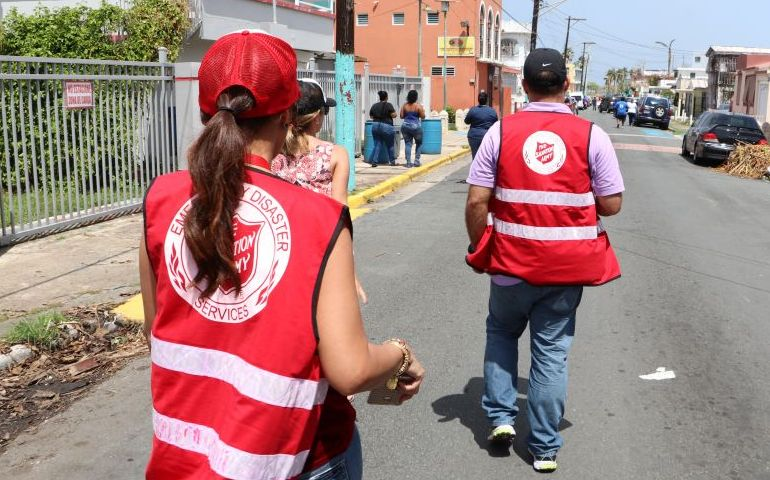 In Puerto Rico, Over 1.2 Million Survivors' Needs Met by The Salvation Army