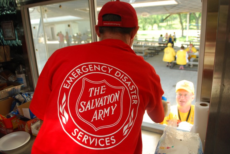The Salvation Army Serves 700 Meals as Case Management Begins in West, Texas