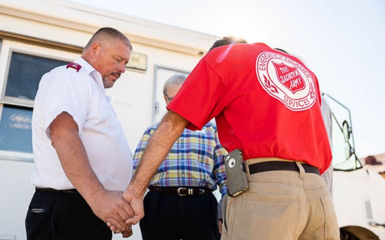 Salvation Army Sends Crews to Help Hard-Hit Areas after Hurricane Michael