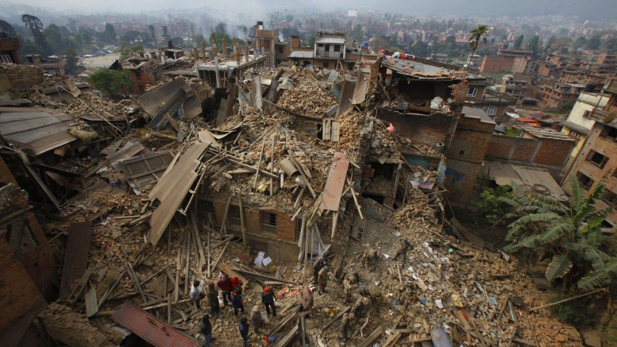 Salvation Army General Calls For International Aid For Nepal