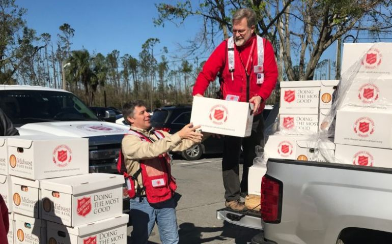 Salvation Army Aids Students in Panama City After Hurricane Michael