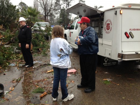 Salvation Army Relief Crews to Continue Service on Wednesday