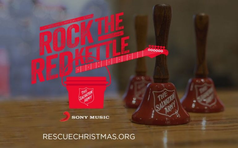 Salvation Army Texas EDS Volunteer Featured in Online Rock The Red Kettle Event