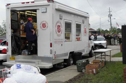 Salvation Army Responds To Deadly Southern Storms