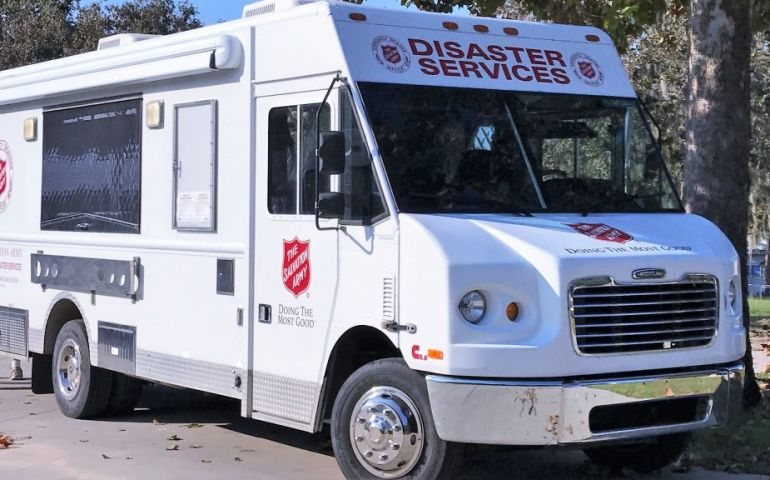 Salvation Army Providing Emotional and Spiritual Care in Eastern North Carolina