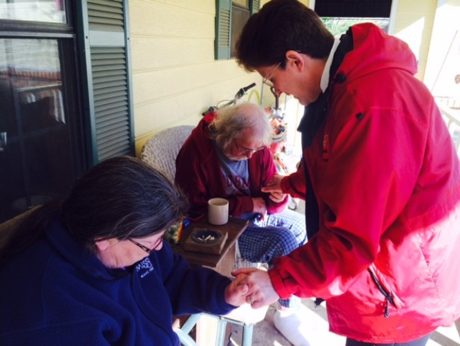 The Salvation Army meeting needs in NE MS after storm damages homes, topples trees