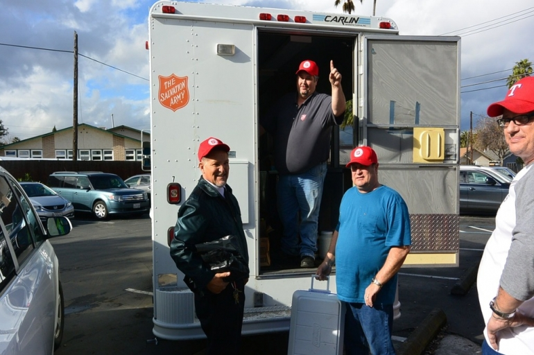 The Salvation Army Aids Those Affected by Major Flooding in San Jose