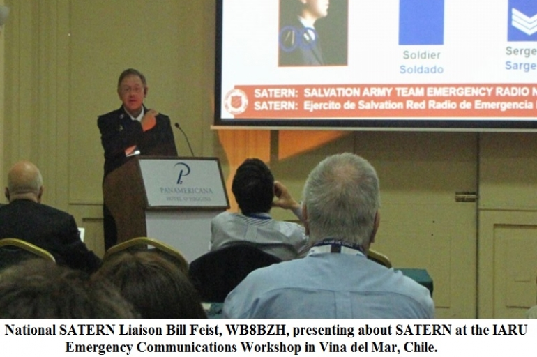 SATERN Represented At International Amateur Radio Union in Chile