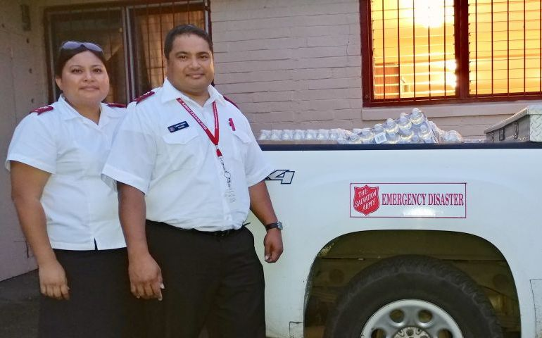 The Salvation Army Responds to Puna Lava Flow