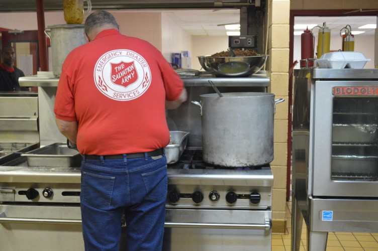 As Power Is Being Restored, Salvation Army Continues To Serve