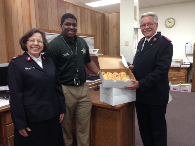 Celebrating National Donut Day During Jefferson County, Arkansas Response