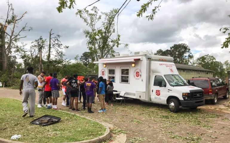 Salvation Army Responds To Ruston Tornado With Multiple Feeding Units