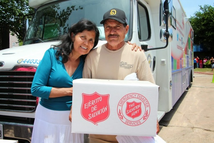 31 Consecutive Days of Salvation Army Disaster Response in Texas