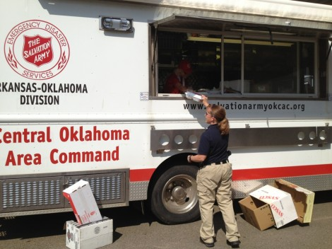 Oklahoma Salvation Army Responds to Wildfires