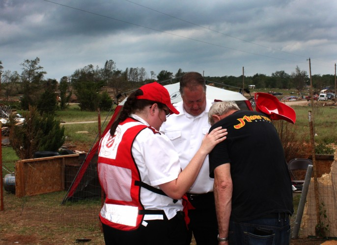 Salvation Army Eases Emotional and Spiritual Suffering after OK Tornadoes