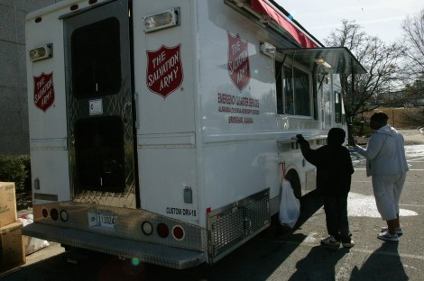 The Salvation Army is An Ever Present Help in Alabama Disaster Relief