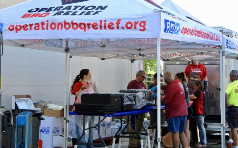 Operation BBQ Relief and The Salvation Army Partner Together
