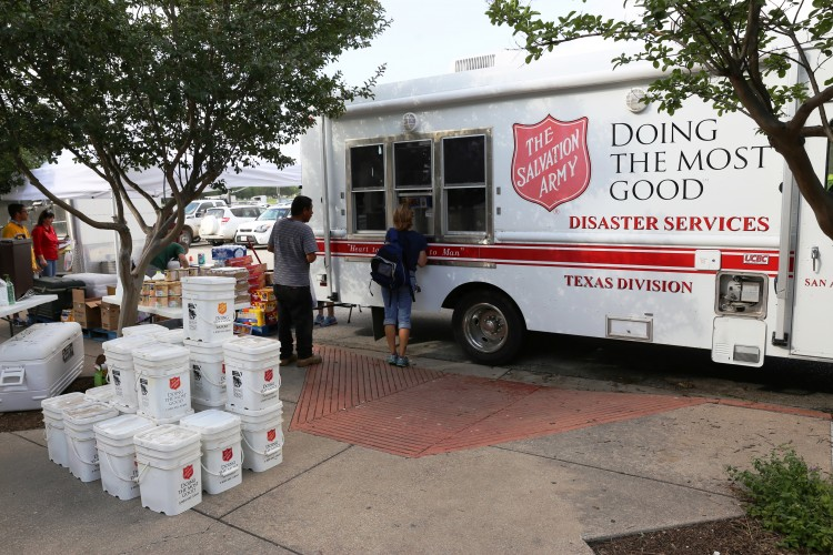 Clean Up Begins in San Marcos as Salvation Army Service Continues