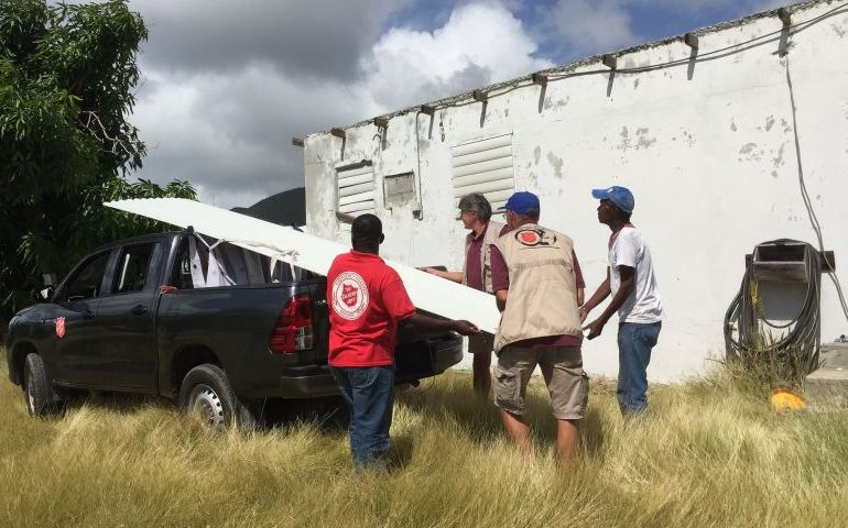 The Salvation Army Continues Long-term Hurricane Response in the Caribbean