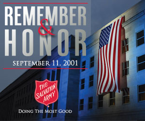 The Salvation Army Commemorates the 10th Anniversary of September 11th