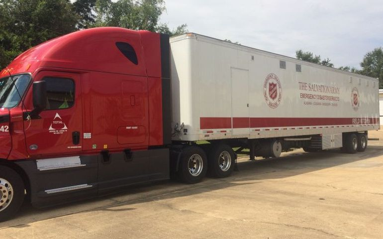 Partnership helps The Salvation Army deploy needed resources to Florida