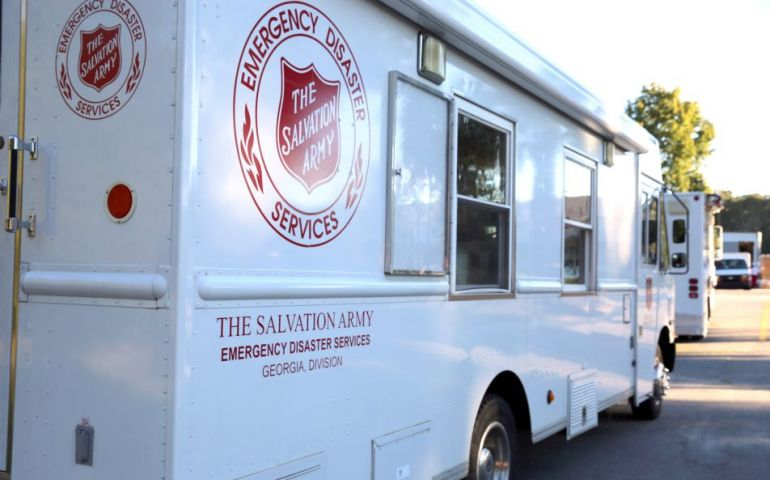 The Salvation Army Georgia Division Responding to Coweta and Polk County Tornadoes