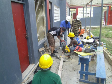 The Salvation Army Finishing Repairs to Schools Following Haitian Earthquake