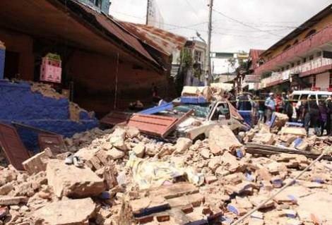 Salvation Army Responds to 7.2 Earthquake in Guatamala