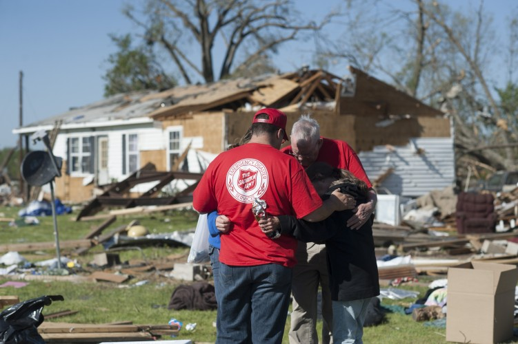 The Salvation Army Marks One-Year Anniversary of 2014 Arkansas Tornadoes