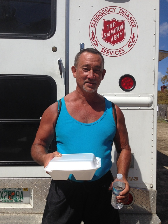 Compassion and coffee: Salvation Army serves Floridians still without power