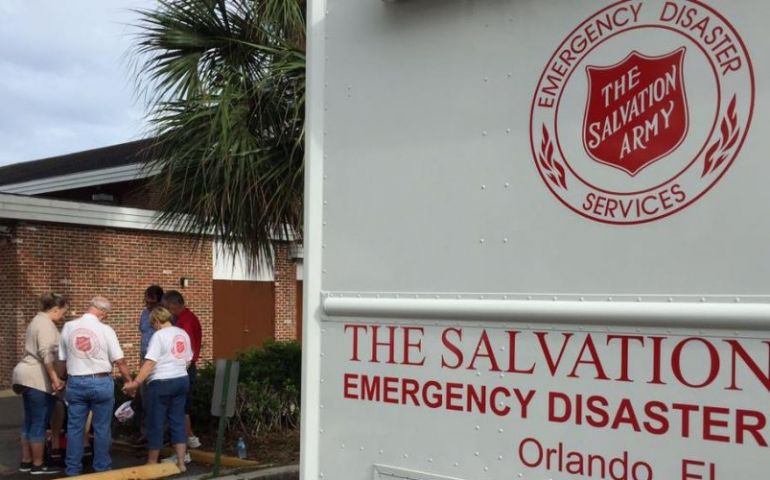 The Salvation Army of Orlando Sends Mobile Feeding Unit to Texas