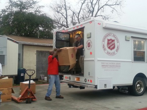 Salvation Army Feeding Units Become Feeding Hub of the Pine Belt