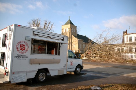 The Salvation Army Offering Food, Comfort and Hope to Tornado Survivors