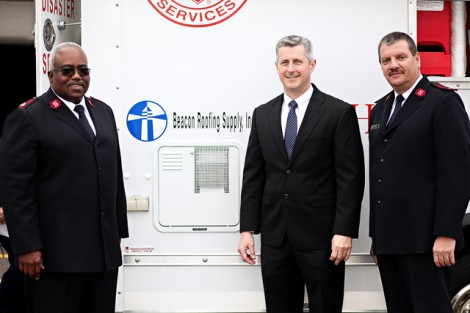 Salvation Army Dedicates Three New Canteens in Missouri