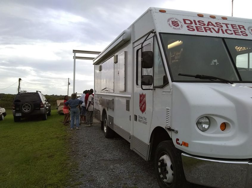 Salvation Army Brings Hot Meals and Hope to Hyde County