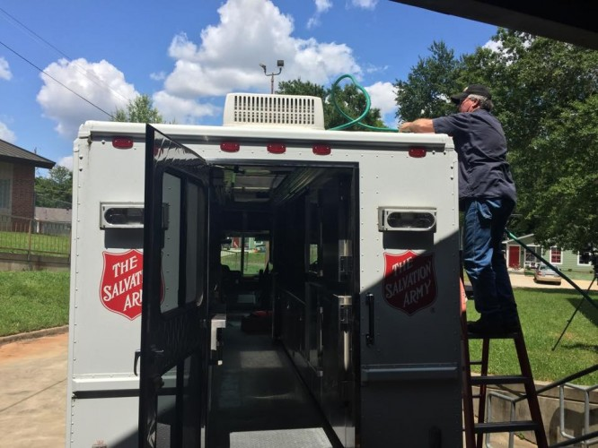 The Salvation Army Prepares for Flooding in Northwest Louisiana